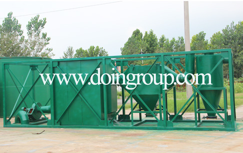 Customized better design waste tires pyrolysis plant for the Italian customer de...