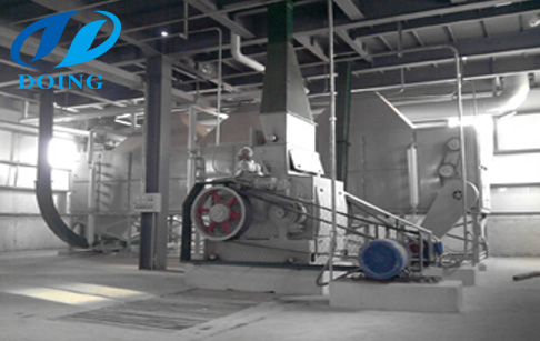Oil seed processing plant
