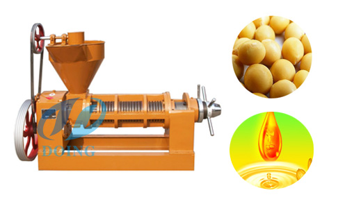 How to extract pure soybean oil from soybean seeds?