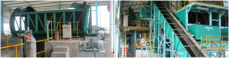 palm oil extracting machine