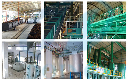 Indonesia palm oil production plant
