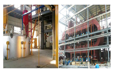 Do you know main processes of rice bran oil producing line?