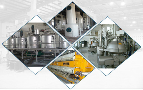 cotton seed oil refining machinery