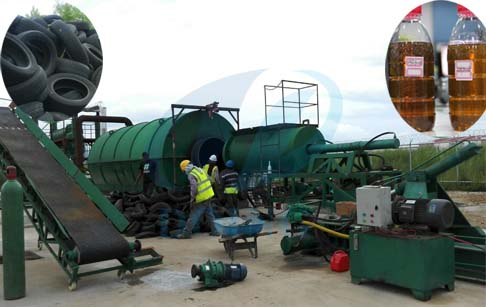 Does the waste tyre pyrolysis plant is environmental friendly?