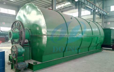 Customer from Chile will visit our plastic tyre pyrolysis plant factory in early...