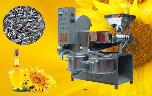 The price of sunflower oil press equipment