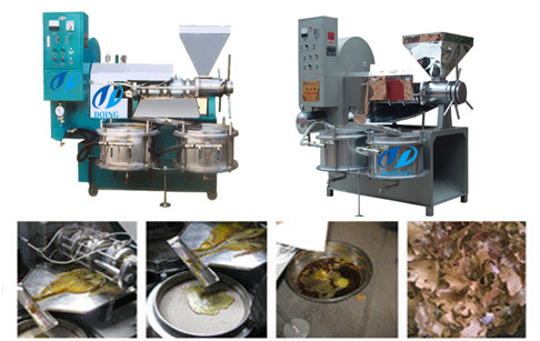 Rice bran oil pretreatment & extraction machine