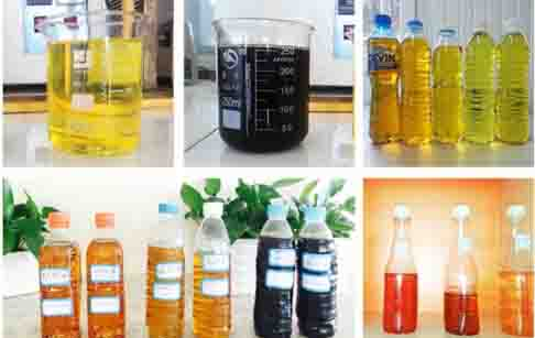 conversion waste oil to diesel