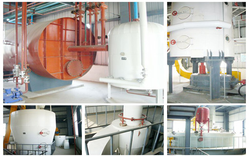 DTDC in cooking oil solvent extraction plant