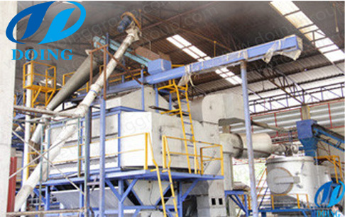5T/D palm oil mill plant installed in Thailand