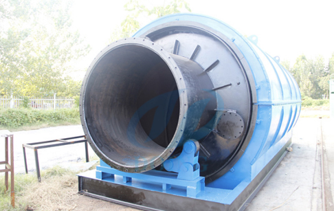 Waste tyre/plastic oil extraction machine delivery to Nigeria