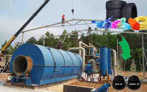 How to ensure waste tire pyrolysis plant running safely?