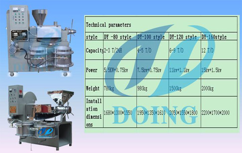 cooking oil press machine for home use