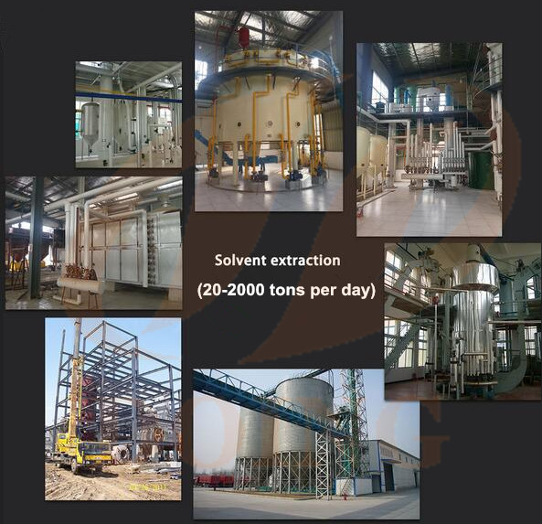 palm kernel oil solvent extraction plant