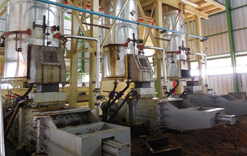 Large scale industrial palm oil milling machinery for sale