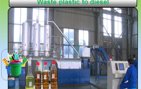How to turn plastic waste into diesel fuel cheaply