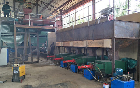 5tph palm oil production machine successfully installed In Nigeria
