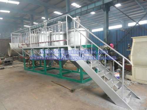 1T/D small oil refinery machine