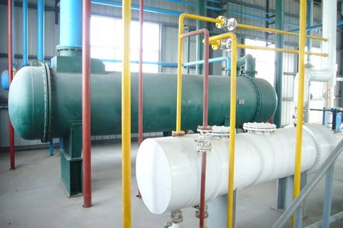 solvent extraction workshop of rice bran oil plant