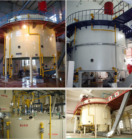oil extractor of cooking oil solvent extraction plant