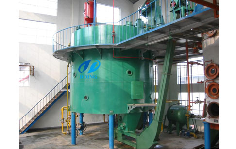 Rice bran oil machine running video