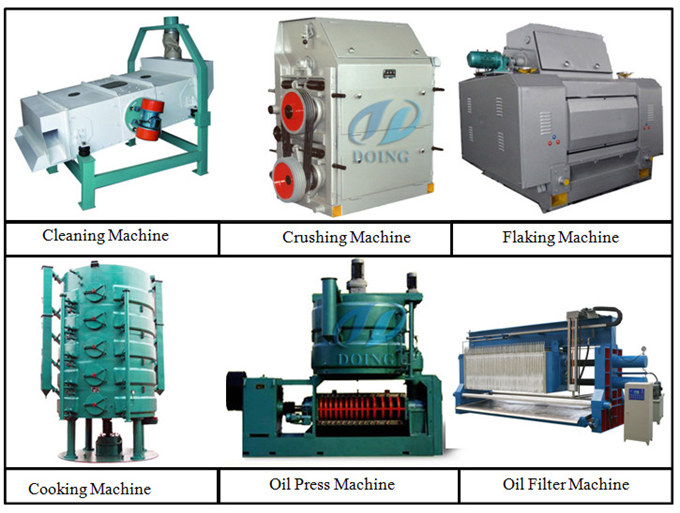 soybean oil pretreatment and pressing machine