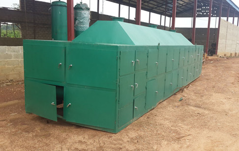 Oil seeds drying machine