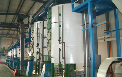 Vegetable oil seeds pretreatment production line