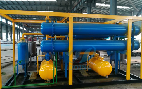 Tunisia customer bought recycling tyre process pyrolysis plant