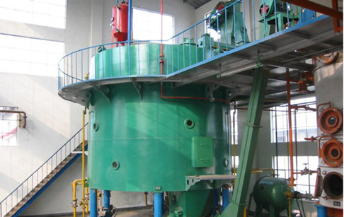 Vegetable oil extractor machine