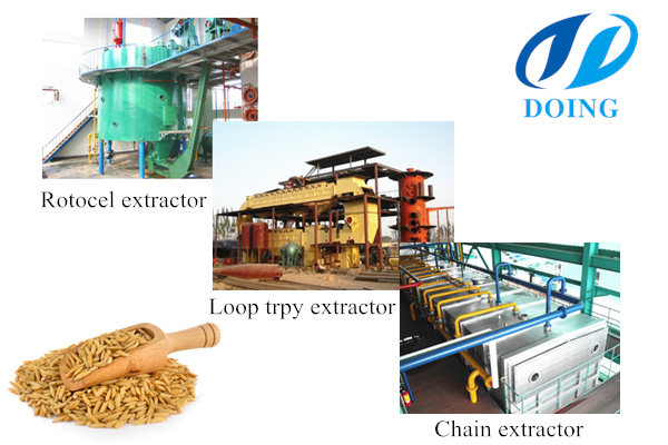 rice bran oil solvent extractor