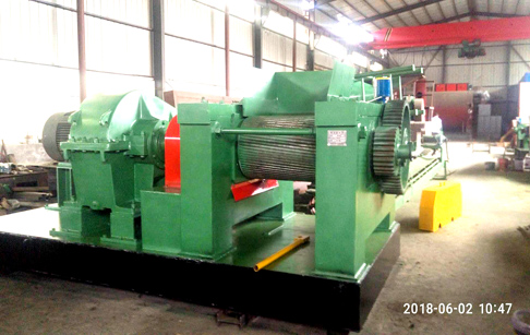 Waste tire recycling to rubber powder machine delivered to Kazakhstan customer