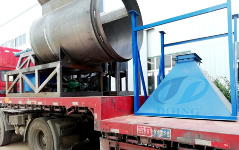 Hunan customer's 12T/D waste tire pyrolysis plant completed the delivery on June...