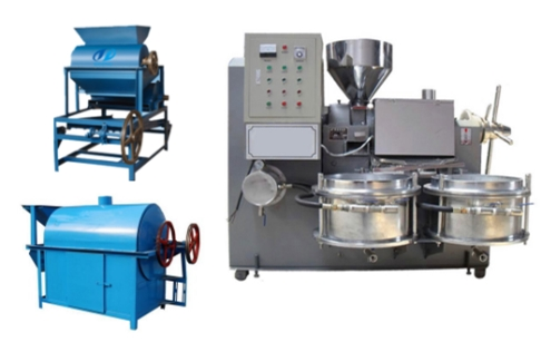 1-5tpd mini groundnut oil mill plant