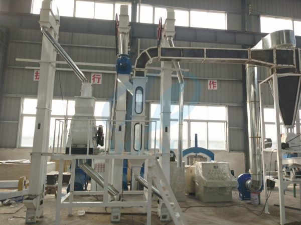 palm kernel oil cracking and separating machine