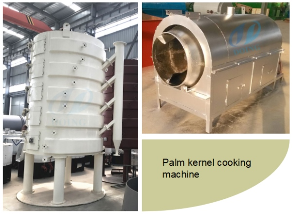 palm kernel cooking machine