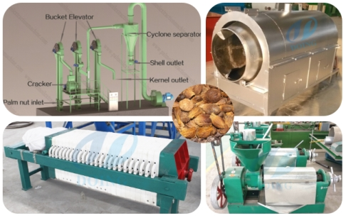 Small scale palm kernel oil mill plant