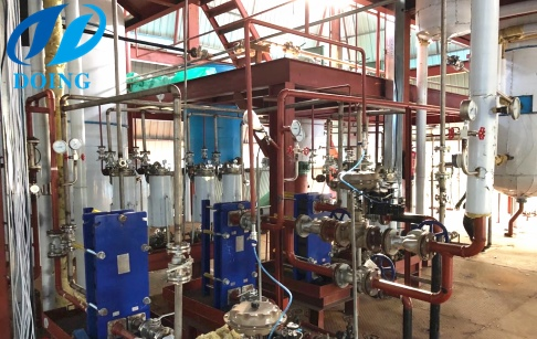 100tpd palm oil refining and fractionation plant project in Kenya