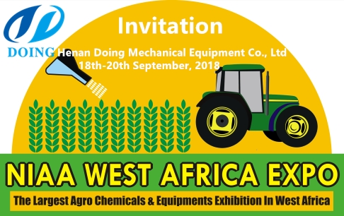 Welcome you to NIAA EXPO WEST AFRICA on 18th-20th September, 2018