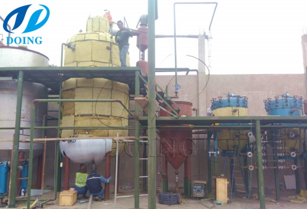 olive oil refinery plant in peru