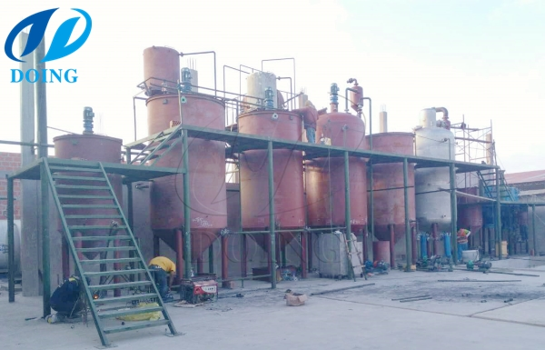 olive oil refinery in peru