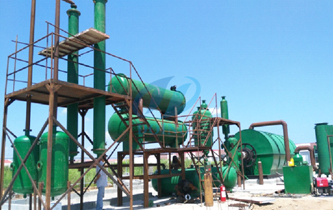The installation of pyrolysis plant encouraged in South Africa