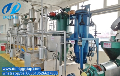 Small scale palm kernel oil refining machine