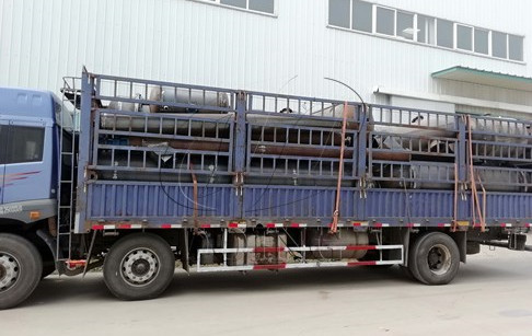 Waste tyre pyrolysis to oil machines delivered to AnHui, China