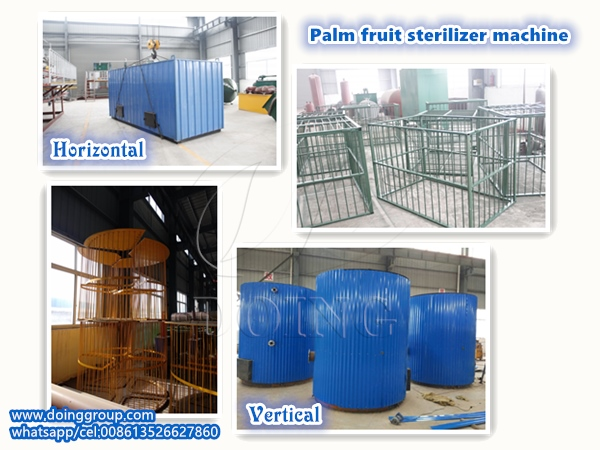 palm fruit sterilizer