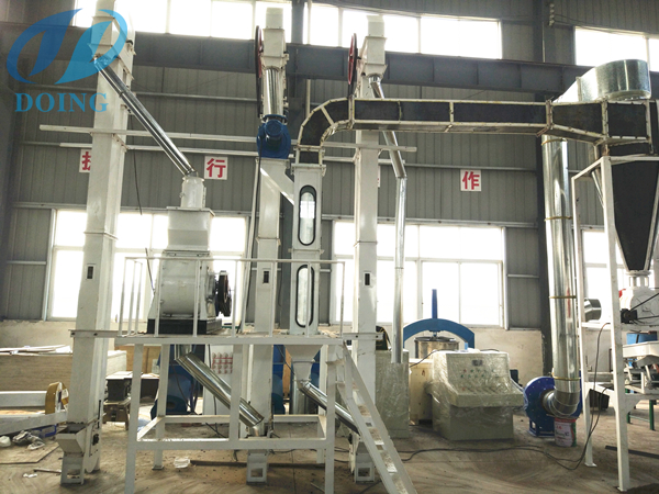 palm kernel cracking and seperating machine