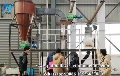 The newest palm kernel shell separator system running test video
