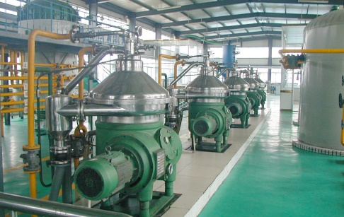 Peanut oil refinery machine