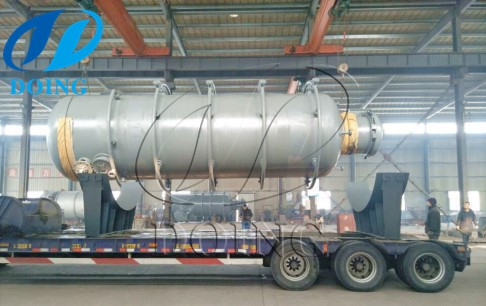 15tph palm fruit sterilizing machine loaded and sent to Mexico