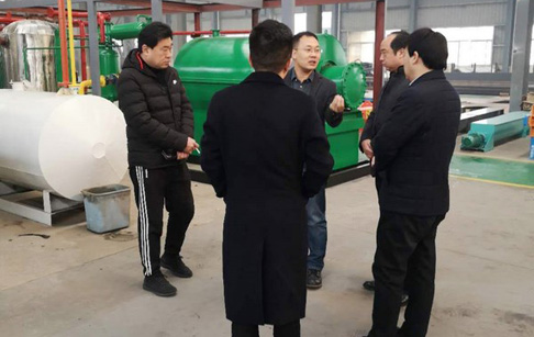 Municipal leaders come to inspect DOING factory